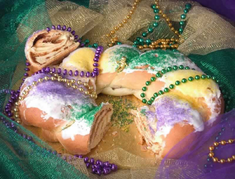 It's just not Mardi Gras in Alexandria without a King Cake!