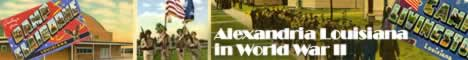 Alexandria Louisiana in World War II