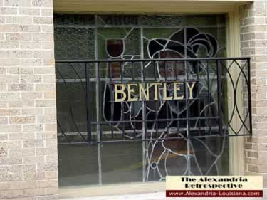 Hotel Bentley stained glass windows