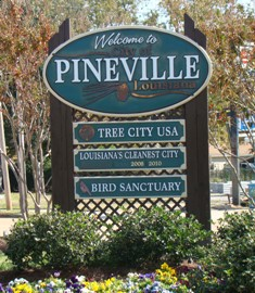 Welcome to Pineville Louisiana ... Tree City USA