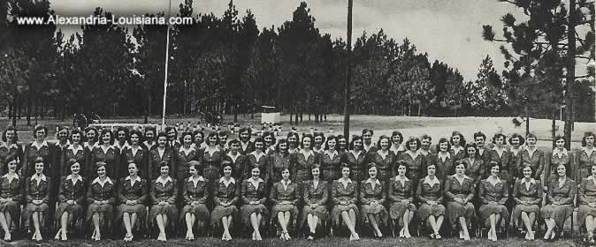 Civilian Clerical Workers, Camp Livingston, Louisiana, during WWII