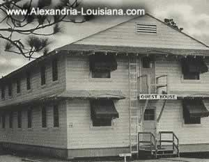 Guest House, Camp Livingston, Louisiana, during World War II