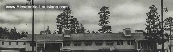Station Hospital, Camp Livingston, Louisiana, during World War II