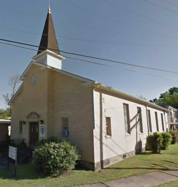 Rapides Council on Aging, located in a former Camp Livingston chapel from World War II