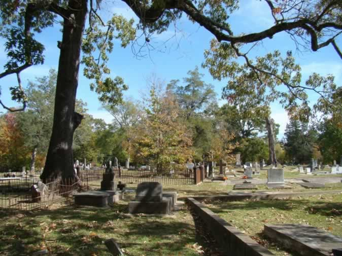 Rapides Cemetery, November, 2011, along the banks of the Red River in Pineville, Louisiana