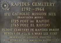 Historic Rapides Cemetery, Pineville
